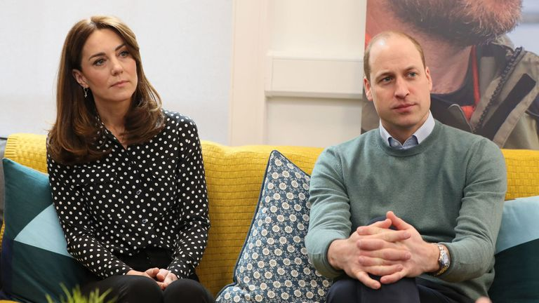 Duke and Duchess of Cambridge who have lent their support to a Public Health England initiative to boost the nation's mental health during the coronavirus pandemic