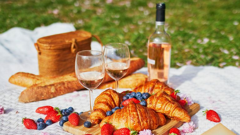 In France wine, pastry and cheese are absolute essentials