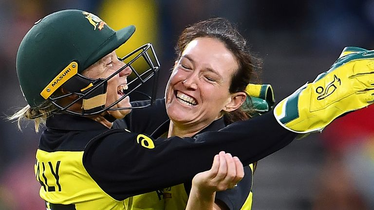 Australia stars Alyssa Healy and Megan Schutt say their win over India in the T20 World Cup final was 'incredible' and 'clinical'