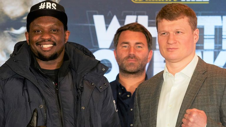 Dillian Whyte and Alexander Povetkin set for May 2…