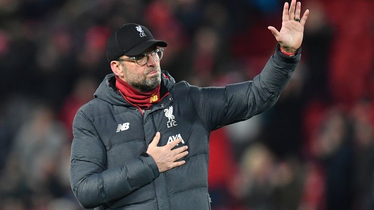 Speaking exclusively to Sky Sports on The Football Show, Liverpool manager Jurgen Klopp insists his side still have plenty of room for improvement.