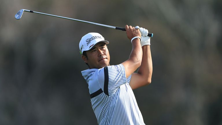 Hideki Matsuyama equalled the course record as he finished his first round on nine under par at The Players Championship