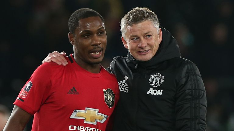 Earlier this month, Ole Gunnar Solskjaer suggested Ighalo could stay on at United beyond his season-long loan