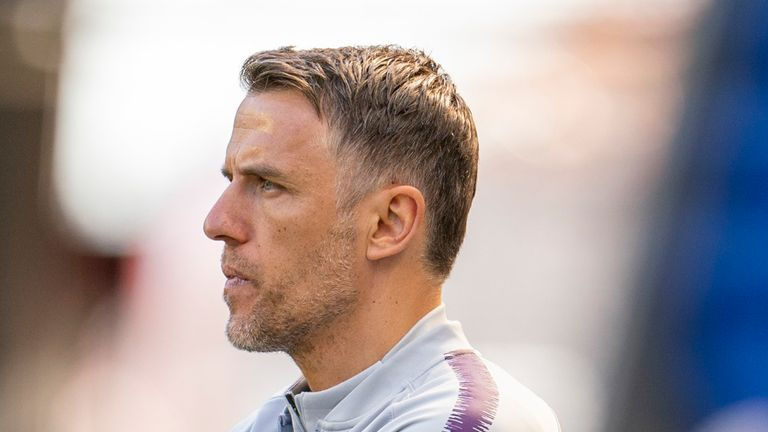 Phil Neville wants to remain England Women head coach despite poor form