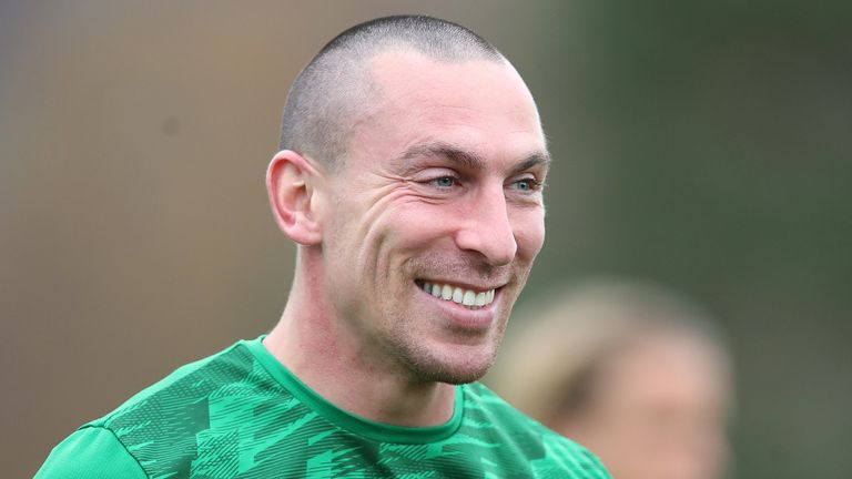 Scott Brown says Celtic will be under pressure to secure their tenth-straight title