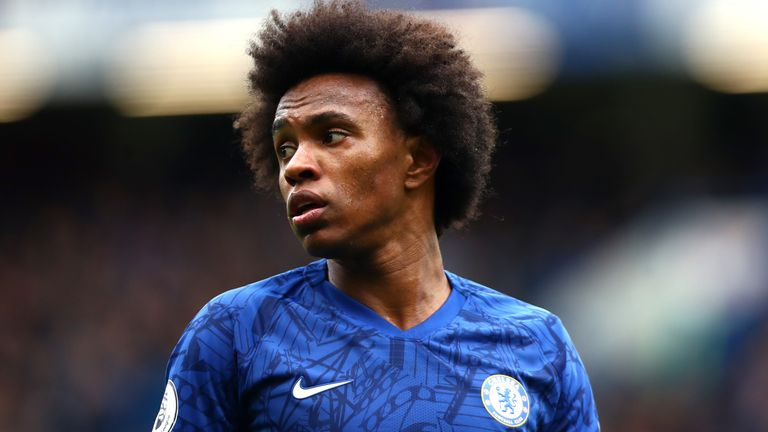 Take a look at Willian's stats for his 19/20 season with Chelsea