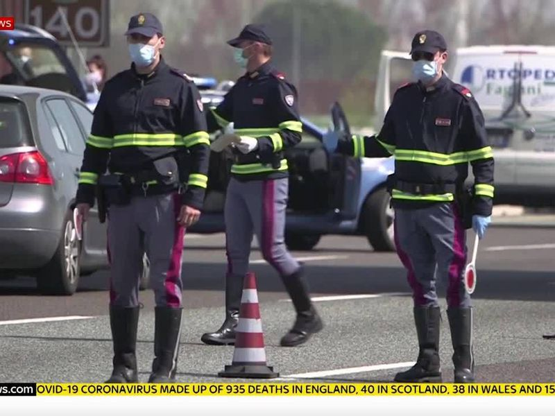Coronavirus My 11 Days In A Milan Hospital After Being Diagnosed With Covid 19 World News Sky News Posts must be relevant to star wars: theft and unrest spreads to southern italy