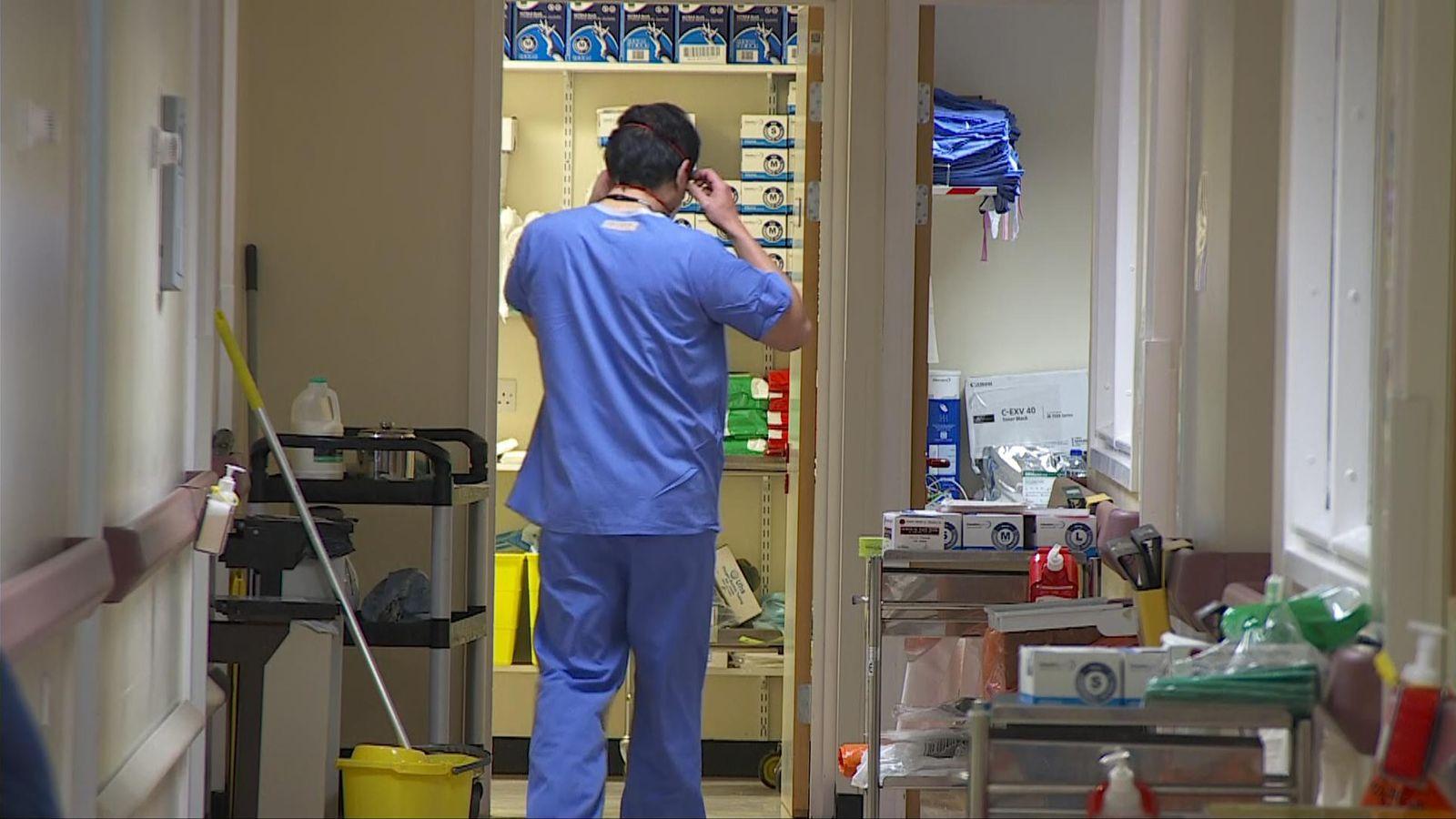 Coronavirus: First look inside British COVID-19 ward as Wales prepares for peak