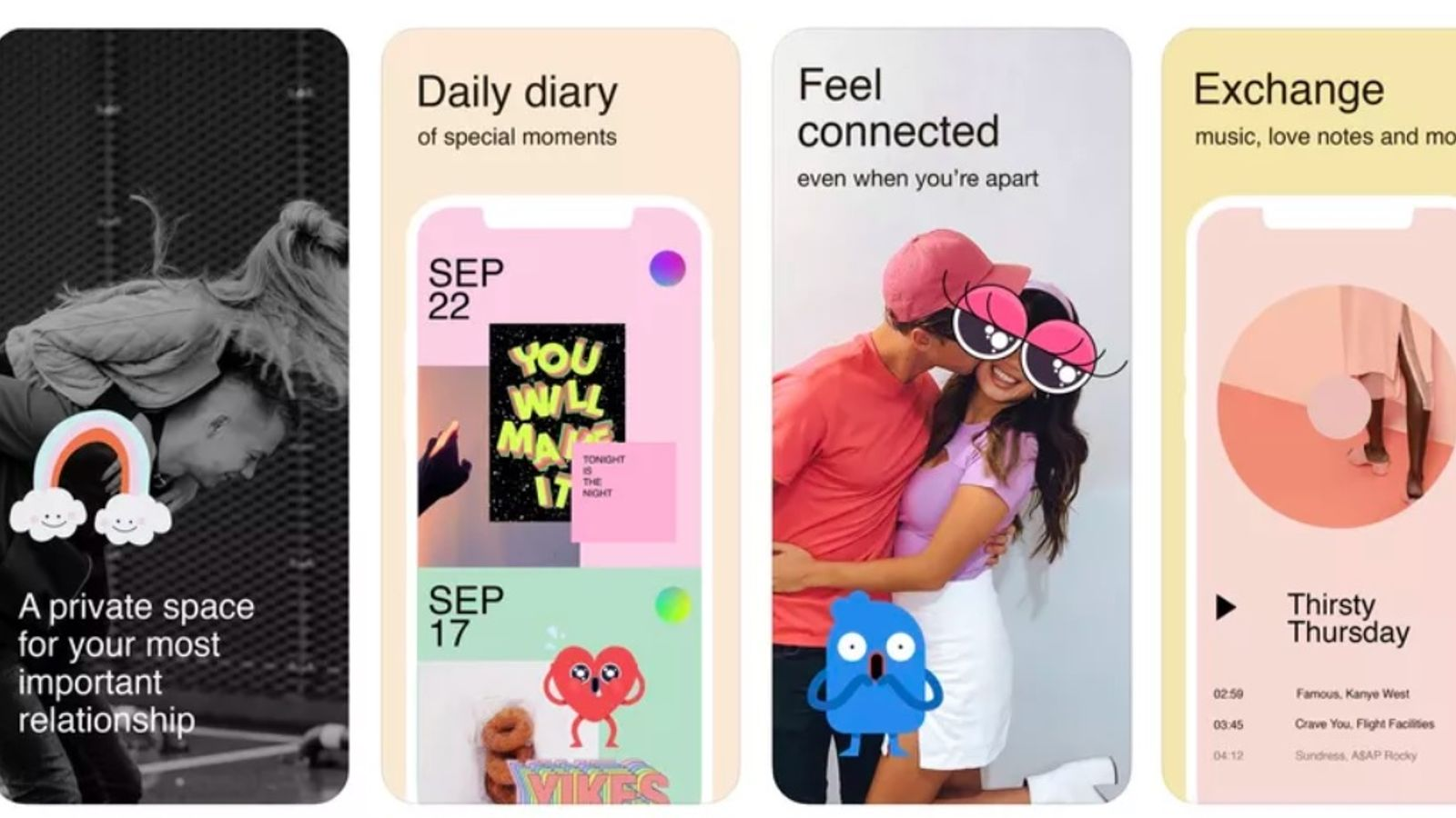 Facebook launches Tuned app to let couples build digital scrapbook