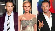 Ryan Reynolds, Scarlett Johansson, Hugh Jackman