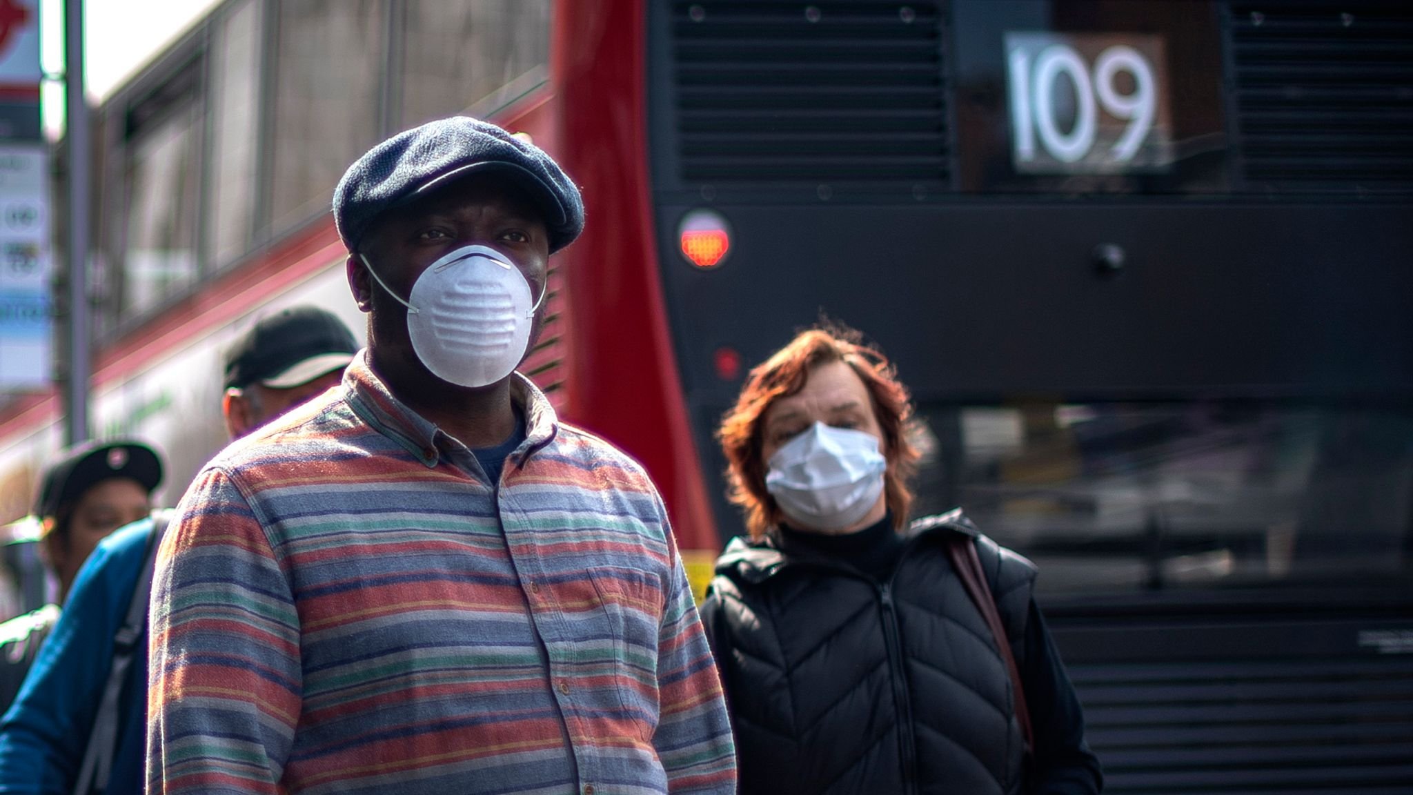 Coronavirus: Britons should wear cloth face coverings in public, health experts tell government | UK News | Sky News