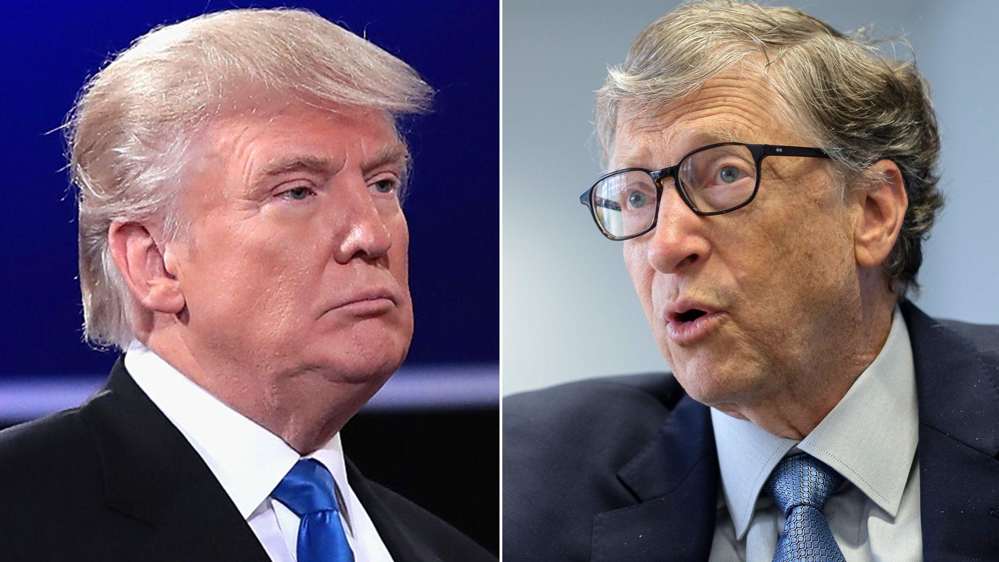 Coronavirus: Bill Gates condemns Donald Trump for stopping US ...