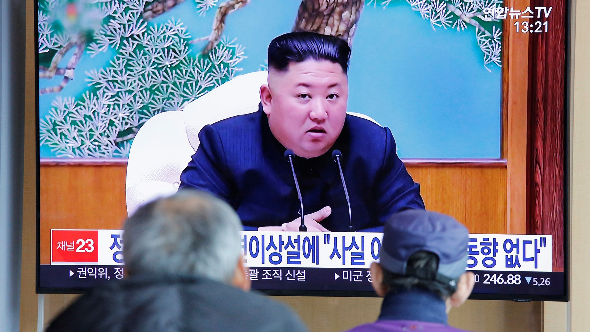 Kim Jong Un Reports North Korean Leader In Grave Danger After Surgery Are Denied World News Sky News