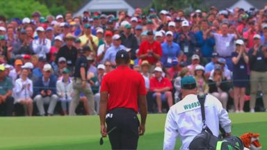Woods' five wins at The Masters