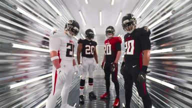 Falcons' new uniforms revealed