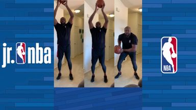 Horace Grant's tap to triple threat