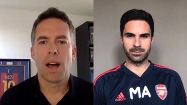 Arteta: Arsenal planning transfer scenarios