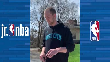 Agility drills with Cody Zeller