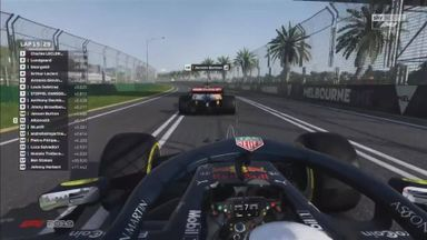 Button vs Albon in epic fight