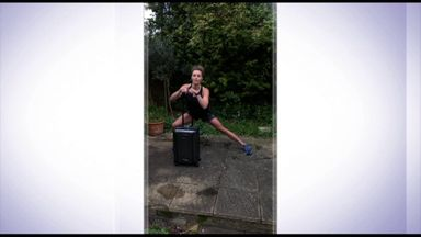 Woolhouse's suitcase workout