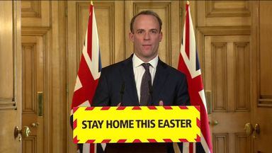 Raab: We are not done yet with lockdown