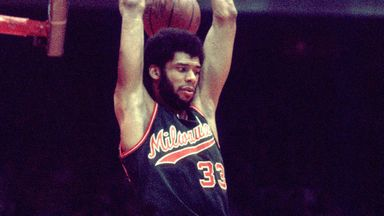 Abdul-Jabbar's NBA debut