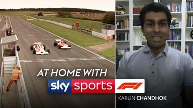 At Home With Sky F1: Karun Chandhok