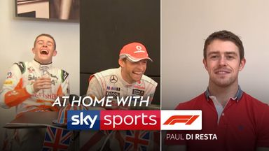 At Home With Sky F1: Paul Di Resta