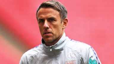 Who will replace Neville for England?