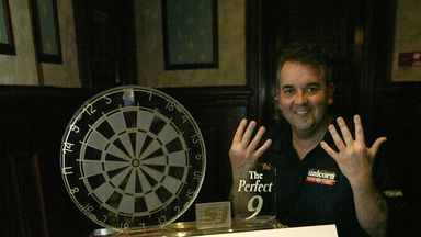 Phil Taylor's nine darters