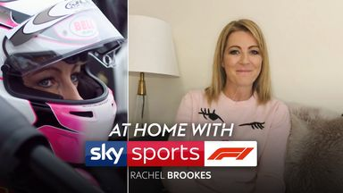 At Home with Sky F1: Rachel Brookes
