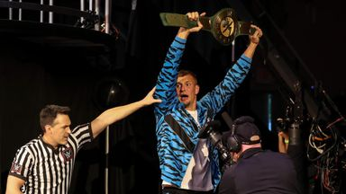 Gronkowski wins WWE 24/7 title!