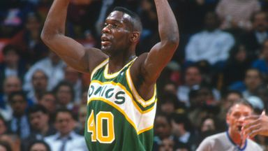 The very best of Shawn Kemp