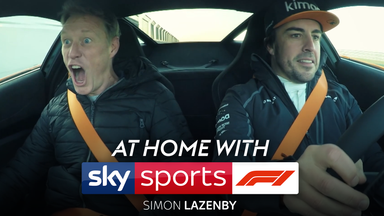 At Home with Sky F1: Simon Lazenby