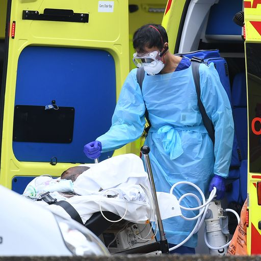 'One in 10' virus deaths taking place outside hospitals