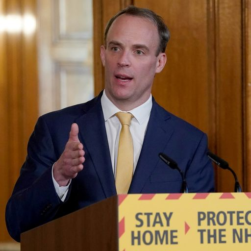 Dominic Raab and cabinet able to take military action in Boris Johnson's absence