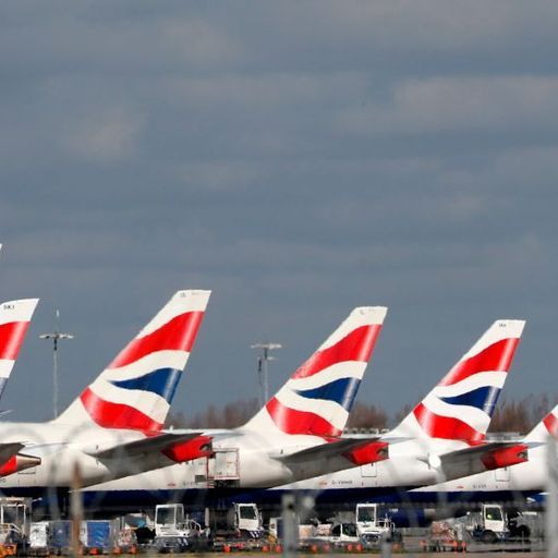 Coronavirus: British Airways owner burning '£178m of cash a week'