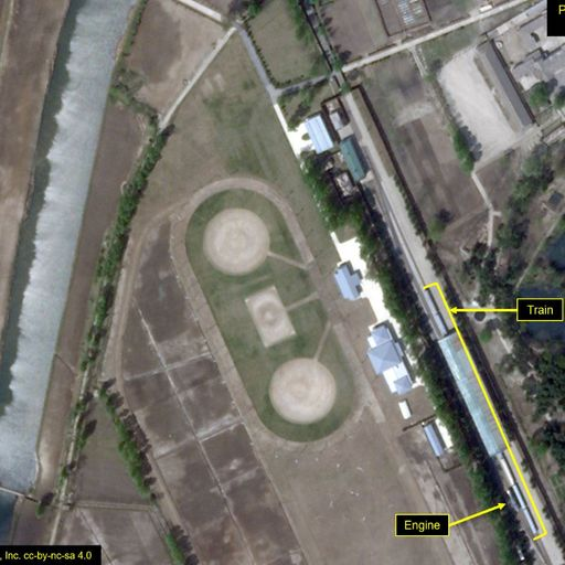 Kim Jong Un's 'train seen in satellite images' amid conflicting reports about his health