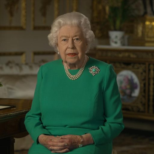 Coronavirus: Queen draws on wartime spirit in emotional message to nation