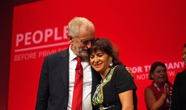 Jeremy Corbyn's wife Laura Alvarez condemns those who 'vilified' Labour leader