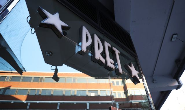 Coronavirus: Pret A Manger to close 30 shops - putting at least 1,000 jobs at risk
