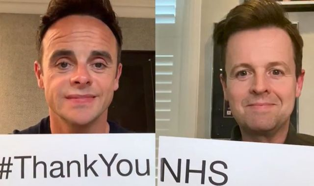 Coronavirus: More celebrities say thank you to NHS staff for their work during pandemic