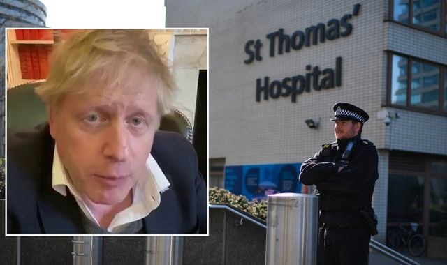 Coronavirus: Boris Johnson PM waved thanks to NHS staff as he was moved out of intensive care