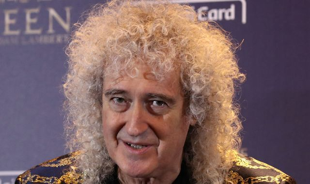 Brian May suffered heart attack after ripping a muscle in his buttock