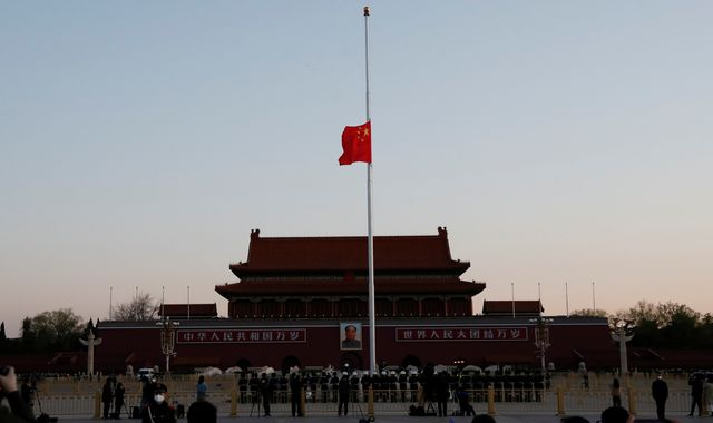 China mourns coronavirus 'martyrs' during national day of reflection
