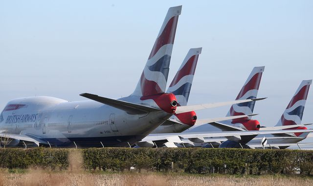 BA owner considers legal action against government quarantine plan – and Ryanair vows support