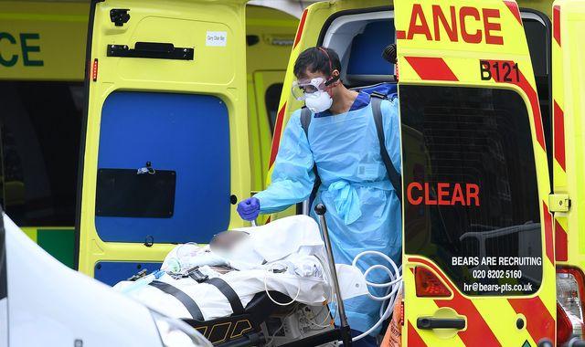 Coronavirus patients more likely to die may have ventilators taken away