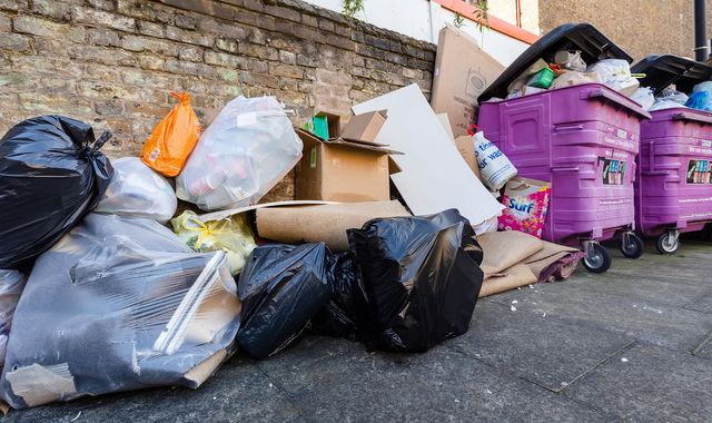 Coronavirus lockdown: Surge in fly-tipping as waste teams 'stretched thin'