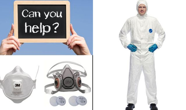 Coronavirus: GP surgery appeals to patients for personal protective equipment