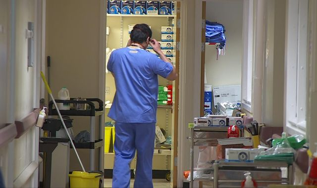 Coronavirus: First  look inside British COVID-19 ward as Wales prepares for peak